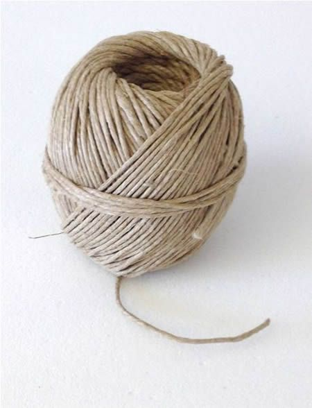 Flax spring twine
